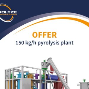 Offer document 150 kg/h plastic pyrolysis plant